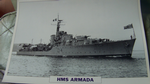 HMS Endurance 1956 patrol warship framed picture (21)
